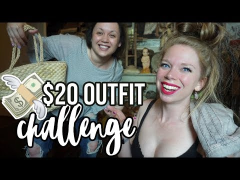 $20 Outfit in 20 MINUTES! Thrift Shopping Challenge!
