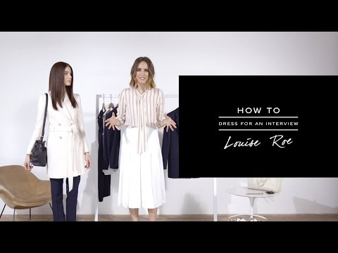 What to Wear to an Interview - REISS