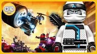Лего Ниндзяго * Зейн байкер и гонки на мотоциклах в игре Lеgo Ninjago: Ride Ninja на Kids PlayBox