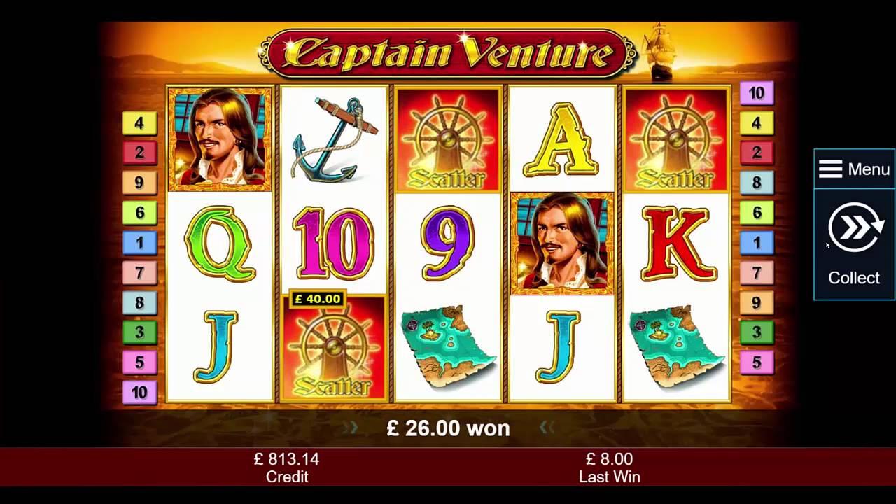 Captain Venture Slot