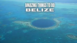 AMAZING THINGS TO DO IN BELIZE | BELIZE TRAVEL TIPS