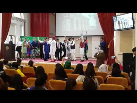 Afghan's culture day in Almaty Kazakhstan by afghan stulents