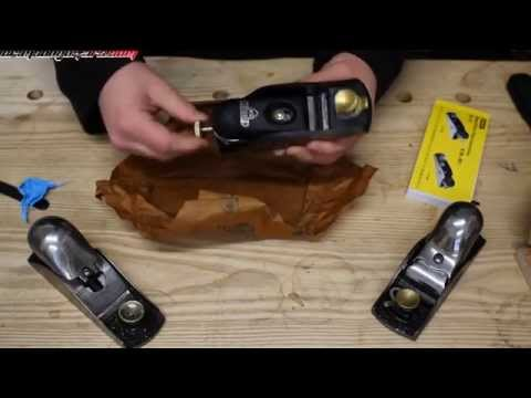 Unboxing, reviewing & fettling a new stanley 60 1/2 sweetheart low angle block plane