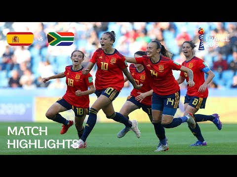 Spain v South Africa - FIFA Women's World Cup France 2019™