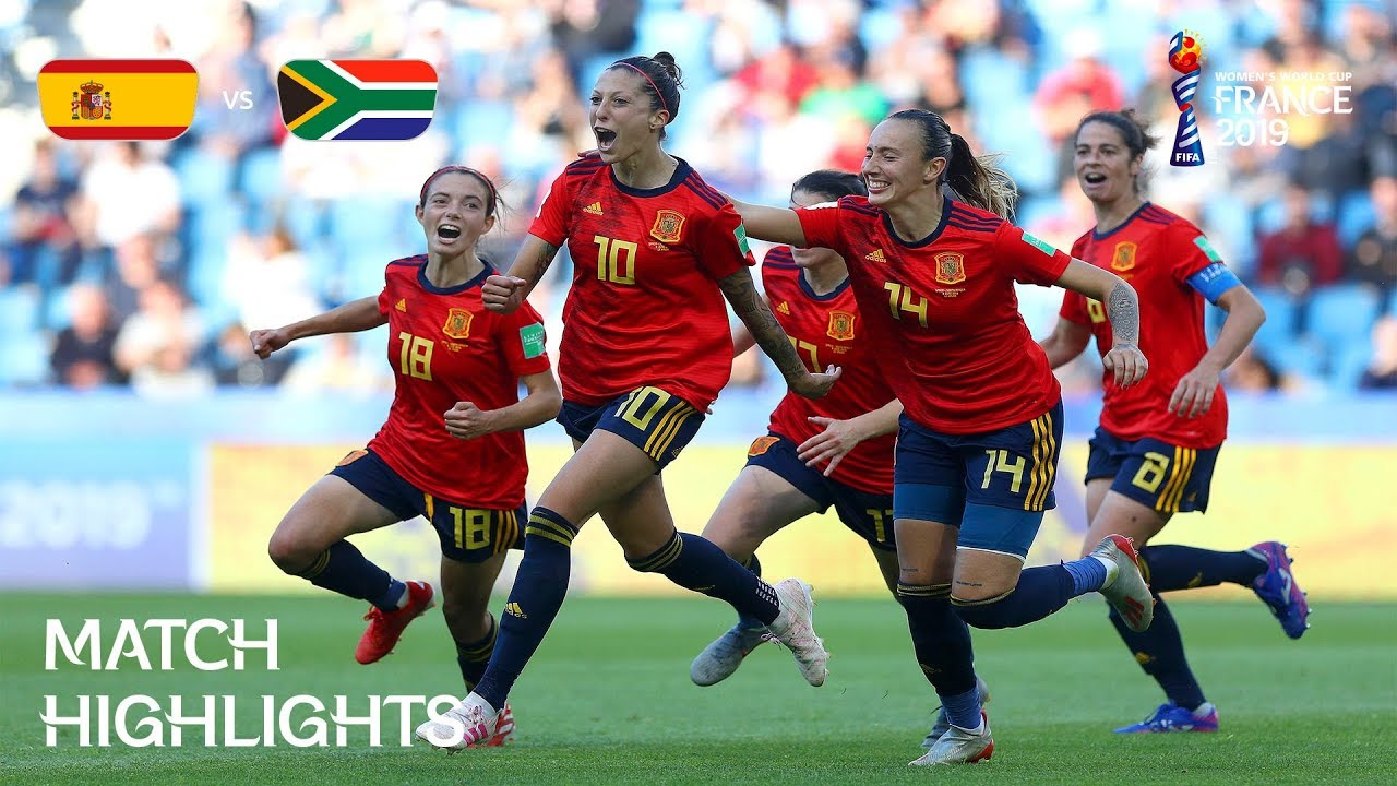 Spain v South Africa - FIFA Women's World Cup France 2019 ...