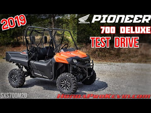 2019 Honda Pioneer 700 DELUXE Quick Drive | Utility Side by Side / SxS / UTV