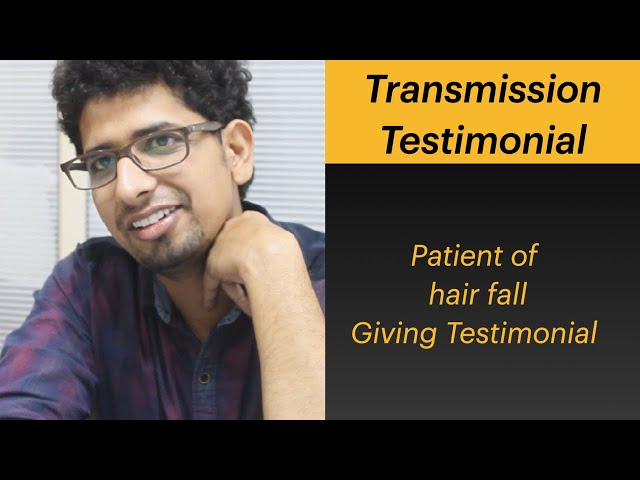 Patient of Hair fall got cured