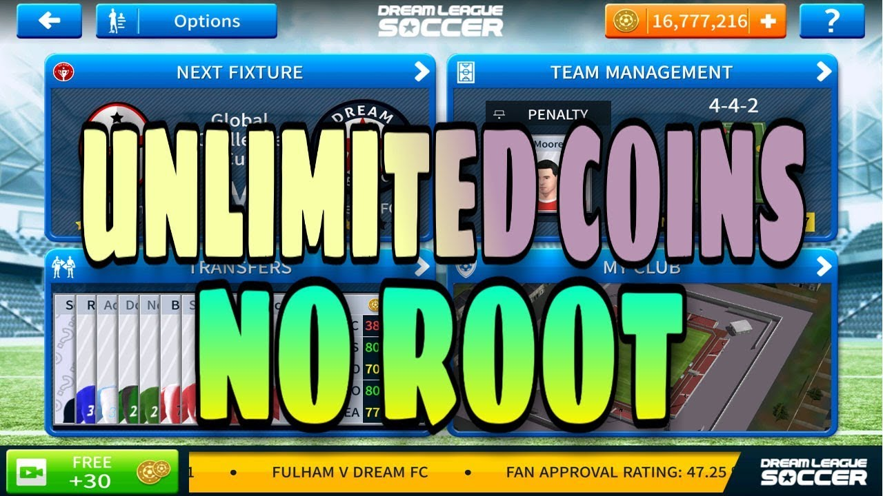 Download Dream League Soccer 2019 For all Android Device| DLS 19 V6 05  (Unlimited Coins) NO ROOT!