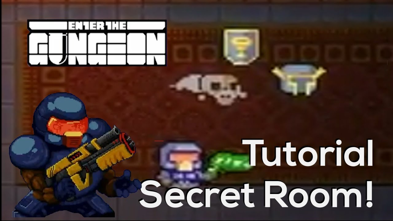 Hall Of Knowledge Secret Area In The Tutorial Enter The Gungeon Youtube
