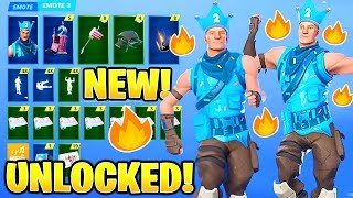 *NEW* LEAKED BIRTHDAY BASH REWARDS! SKINS & EMOTES in Fortnite (UNLOCKED) Challenges