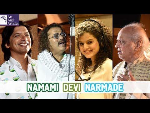 River Narmada Anthem | Pandit Jasraj | Durga Jasraj | Hariharan | Shaan | Lalit Pandit | PM Modi