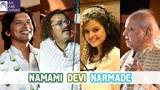 River Narmada Anthem   Pandit Jasraj   Durga Jasraj   Hariharan   Shaan   Lalit Pandit   PM Modi