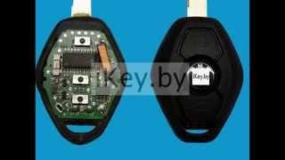 Замена батарейки в ключе БМВ е34, е36, е38, е39, е46 Change the battery
