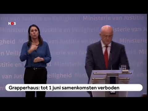 Ferd Grapperhaus: Geen bijeenkomsten tot 1 JUNO