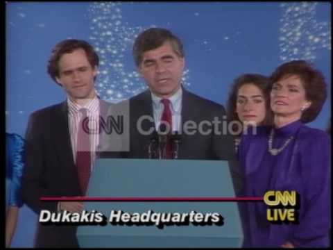 ELECTION 1988:DUKAKIS CONCESSION