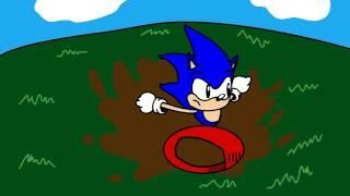 Sonic CD Şekil 8 animasyon