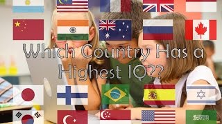 TOP 15 COUNTRY WITH HIGHEST AVERAGE IQ 2017