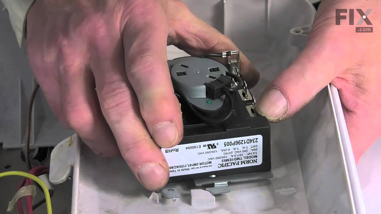 Ge Dryer Repair  U2013 How To Replace The Timer
