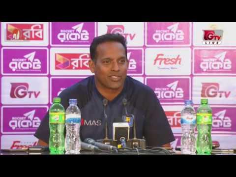 Sri Lanka Press Conference after Bangladesh vs Sri Lanka 2nd Test Day 01