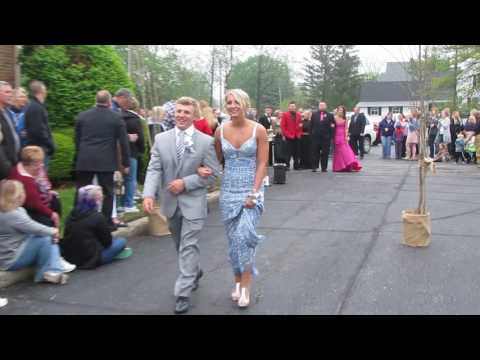 Taylor Jones & Jake Wilson 2017 Elwood High School Prom Introduction 4-29-2017