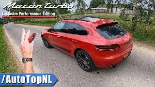 PORSCHE MACAN TURBO Performance Package REVIEW on ROAD & AUTOBAHN - WHY NOT A TURBO S?! by AutoTopNL
