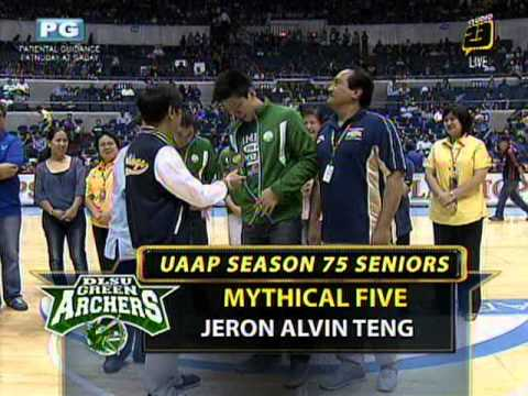 Awards for Mythical Five
