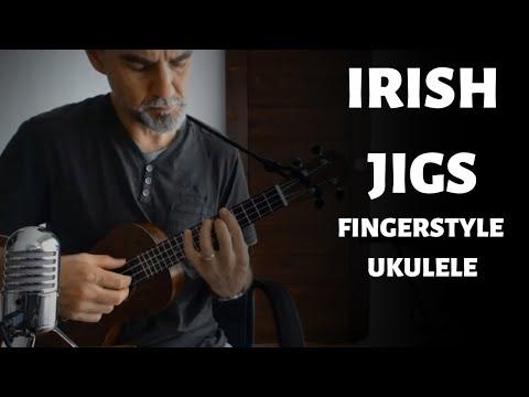 3 Irish Jigs for Ukulele!  (Campanella)
