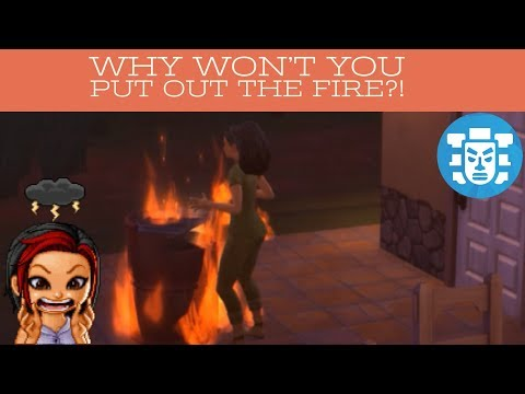 """Are You Serious?!"" {Sims 4: Jungle Adventure Pack Ep.1} 