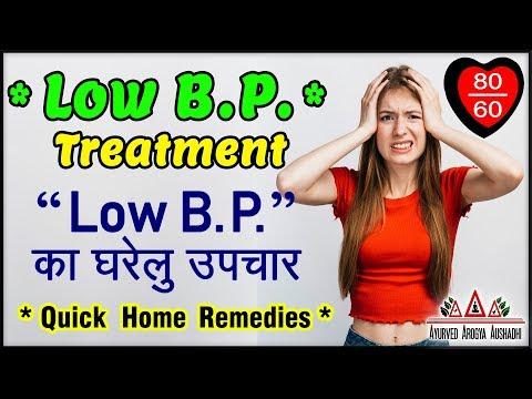 low-bp-treatment---low-b.p.-का-घरेलु-उपचार---*quick-home-remedies*-(2019)