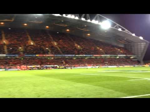 Munster v Saracens ,Stand Up and Fight 25th October 2014