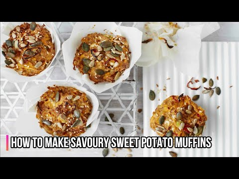 How To Make Savoury Sweet Potato Muffins Step By Step Recipe