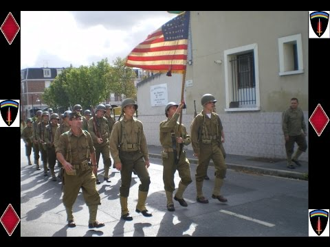 Parade Militaire USA 1944 (SHAEF)