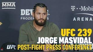 UFC 239 Post-FIght Press Conference: Jorge Masvidal - MMA Fighting