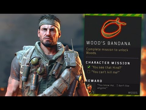 Blackout: How to UNLOCK Frank Woods! (Bandanna Location)
