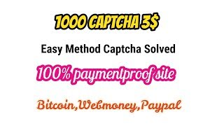 How To Solve Captcha Typers Recaptcha