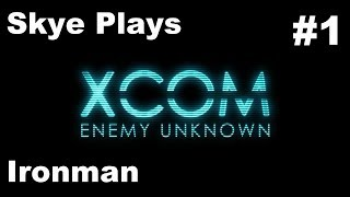 XCOM Enemy Unknown Gameplay Part 1 ►Mission 1: YOU Can Name A Soldier! ►Ironman