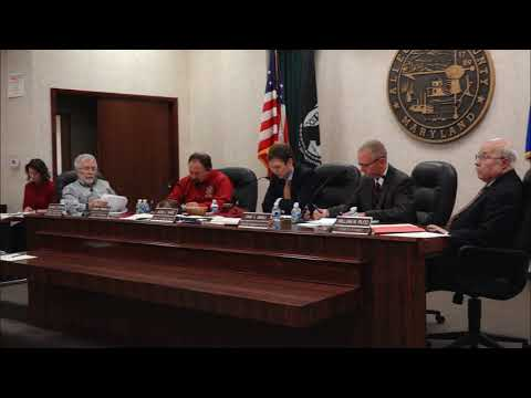 Allegany County Board of County Commissioners - State of the County Address