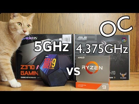 Repeat 3900X vs 9900K OC Showdown (13 Programs Tested) by