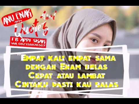 Pantun Quotes Quotes Pantun Bikin Baper YouTube 97