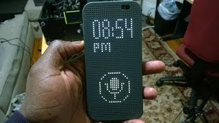 HTC Dot View Case Review (M8)