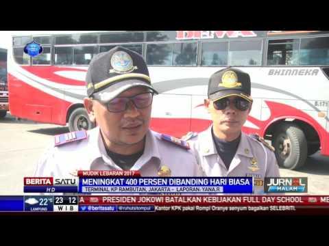 Sudah 480 Bus Angkut Pemudik dari Terminal Kampung Rambutan