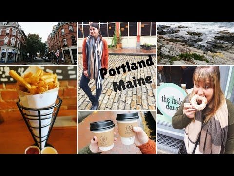 Portland Maine Travel Vlog | As Told By