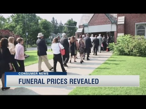 Funeral Prices Revealed