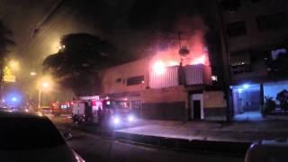 Incêndio no restaurante A Mineira / Niterói (17/07/14)