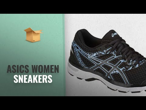 Great Asics Women Sneakers Collection [2018]: ASICS Women's Excite 4 Black Bluebell 6.5 B(M) US