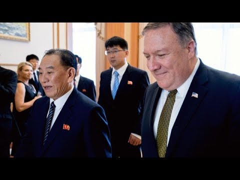 North Korea calls talks led by Mike Pompeo 'regrettable'