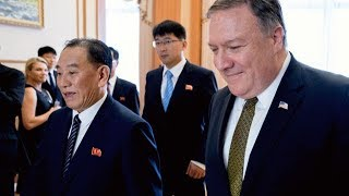 "North Korea called talks with a U.S. delegation led by Secretary of State Mike Pompeo ""regrettable."""