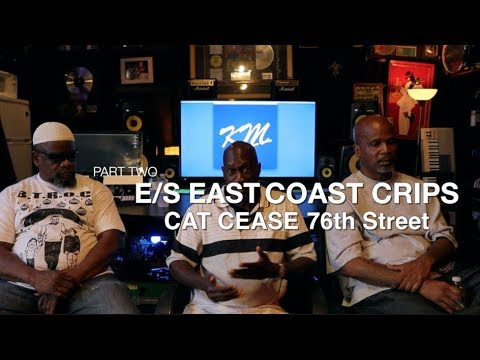"East Coast Crips - ""Cat Ceasar Talks History of 76 Crips"" Part 2"