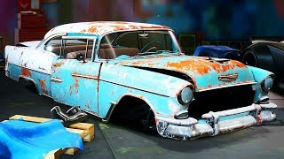 THE FINAL DERELICT (1955 Chevy Bel Air) - Need for Speed: Payback - Part 59