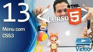 Curso de HTML5 - 13 - Menu com CSS3 - by Gustavo Guanabara